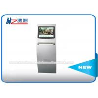 Touch Screen Ticket Vending Kiosk For Movie / Gymnasium / Theater Scanning 2D Barcode Manufactures