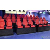 Customized 5D Movie Cinema Theater Dynamic Film Simulation System Manufactures