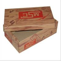 Glossy Lamination Corrugated Paper Shoes Packaging Box 12 * 8 * 6 Inch Manufactures