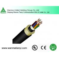 All-Dielectric kevlar yarn armored aerial ADSS fiber optic cable ADSS with 200M span Manufactures