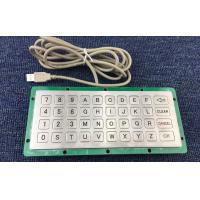 China USB/PS/2 metal customized keyboard for road parking on sale