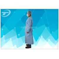 PP Coated PE Waterproof Disposable Isolation Gowns Unisex With Different Size Manufactures