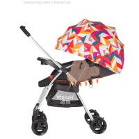Two Way Push Baby Carriage Stroller Easy To Carry And Pack Aluminum Frame Manufactures
