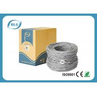 China Twisted Pairs Cat6 Lan Cable , 1000ft Shielded FTP Lan Cable With 5.8mm PVC Jacket on sale