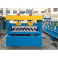 4kw Corrugated Sheet Roll Forming Machine For Making 750mm Width Wall Panel Manufactures