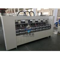Corrugated Board Thin Blade Slitter Scorer Machine With Width Customized Manufactures