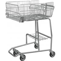 Low Carbon Steel Wire Basket Disabled Shopping Trolley For Old / Disability Persons Manufactures