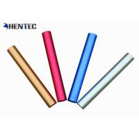 Customized Size Extruded Aluminum Tube Profile High Corrosion Resistant Manufactures