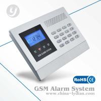 LCD Display Gsm Security Alarm System Wireless Home Sms Alert Burglar Manufactures