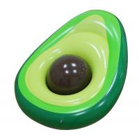 Outdoor Inflatable Avocado Pool Floats Lounge With Beach Ball Manufactures