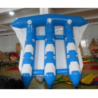 6 People Blue And White Or Blue And White Water Inflatable Flying Fish For Tied Behind The Boat Drift In The Water Play Manufactures