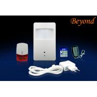 Wireless Remote DVR Motion Sensor Alarms For Home / Office / Hotel / Marketplace Manufactures