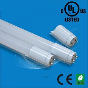 UL/CUL/CE/ROHS 120cm 4ft 18W All-Plastic LED driver replaceable tube light 140pcs LED Manufactures