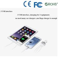 ABS material dual port usb car charger wholesale for cell phone charger Manufactures