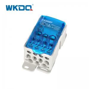 UKK Din Rail Power Distribution Block Box UKK 500A 54mm Installation Hole Manufactures