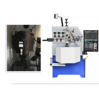 5.5kw Compression Spring Machine Servo Motor Control For Wire Size 4.0mm Manufactures