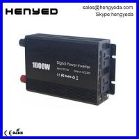 HYD-D1000W 1000W Car Power Inverter 2 AC Outlets 12V DC to 110V AC with Battery Clip Cable Manufactures