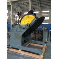 Heavy Duty Tiltable & Rotary Welding Positioner SKF bearing 2M table VFD control Manufactures