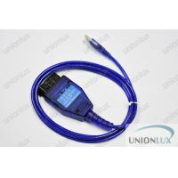 VAG Fiat ECU Scan Auto Diagnostic Cable To Computer / Laptop Manufactures