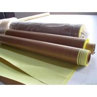 Heat Resistant PTFE teflon coated fabric adhesive tapes Manufactures