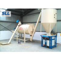 Horizontal Mortar Mixing Equipment / Industrial Paddle Mixer High Efficiency Manufactures