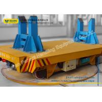China Steel Industry Motorized Pallet Turntable Non - Slip Surface For 90 Degree Rotation on sale