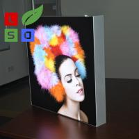 LED Fabric Light Box Single Side Frameless For LED Shop Display Manufactures