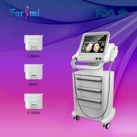 Newest ultrasound hifu korea portable slimming machine for sale Manufactures