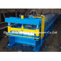 Iron Rolling Mill Roofing Sheet Roll Forming Machine 7.5kw Hydraulic Control Manufactures