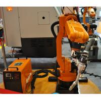 High Efficiency Assembly Line Small Welding Industrial Robot , Installed On Floor Manufactures
