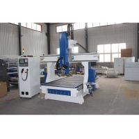 6kw Air Cooled Spindle CNC Wood Cutting Machine 380V / 220V 50HZ For Woodworking Manufactures