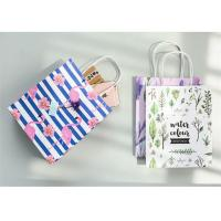China Reusable Custom Paper Shopping Bags , Kraft Paper Bags With Handles on sale