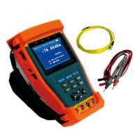 Digital RJ45 Cable CCTV Tester , CCTV Camera Tester with Optical Power Meter Manufactures