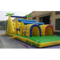 Large Inflatable Obstruction Toys / Inflatable Sports Toys for Children Manufactures