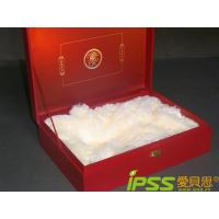 China Luxury Cardboard Packaging Boxes Printing , Red Rigid Corrugated on sale