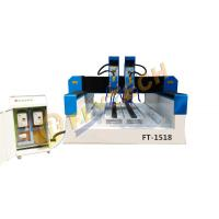 China Latest Double head EPS cutting machine for stone/wood mold/metal engraver on sale