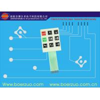 Quality Professional Keypad PCB Membrane Switch And Panel With Flat Cable for sale
