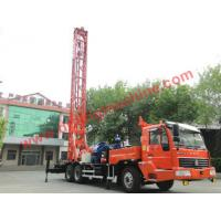 China Truck Mounted Rotary Turntable Water Well Drilling Rig - TDZQT350DR on sale