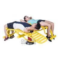 high quality Outdoor Fitness Equipment with TUV certificate EN 16630 sit up exercise equipment Manufactures