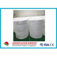 Breathable Spunlace Non Woven Tissue Sheets Eco Friendly For Hygiene / Beauty Industry Manufactures