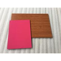 Quality High Intensity Polyester Aluminium Composite Panel, Aluminum Wall Panels Exterior for sale