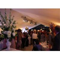 Quality High Strength White Waterproof Wedding Event Tents Large A SHAPED Tent For 600 Seater for sale