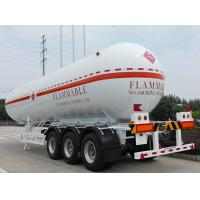 2 Or 3 Axles LPG Tank Trailer Lpg Transport Trailer Customized High Stability Manufactures