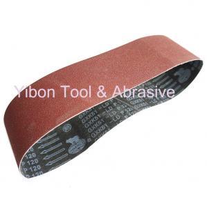 China GXK51 Aluiminum oxide abrasive sanding belt for Furniture on sale