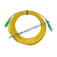 High Stability Fiber Optic Cable Assembly , CATV System SM Simplex SC SC Patch Cord​ Manufactures