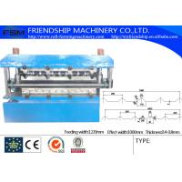 Chain Cold Formed Steel Sections , Double Profiles Roll Forming Machine Manufactures