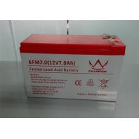 Quality Maintenance Free UPS Battery Replacement 7.5ah Sealed Lead Acid Rechargeable for sale