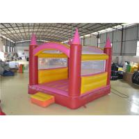 Red And Yellow Customized Inflatable Sports Games For Kids CE Manufactures
