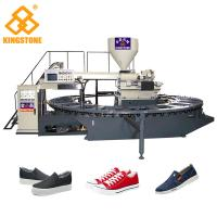 20 Stations Servo System Adopted PVC shoes making machine for sport shoes lasure shoes Manufactures