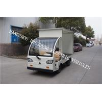 48V Battery Power Flatbed Delivery Truck , Electric Cargo Truck With Semi Convertible Cab Manufactures